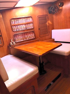 Dining area across from Galley