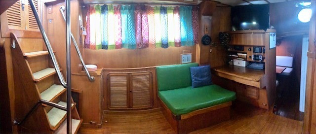 Navigation Station and Companionway