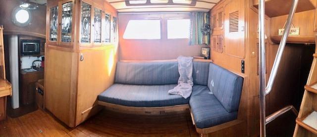 Starboard side of Salon