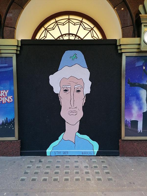 Prince Edward Theater, Old Compton street, Soho- Sondos Mahdy