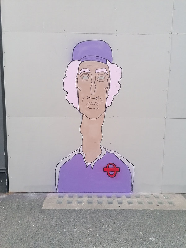 Tottenham Court Rd, Bloomsbury- Sondos Mahdy