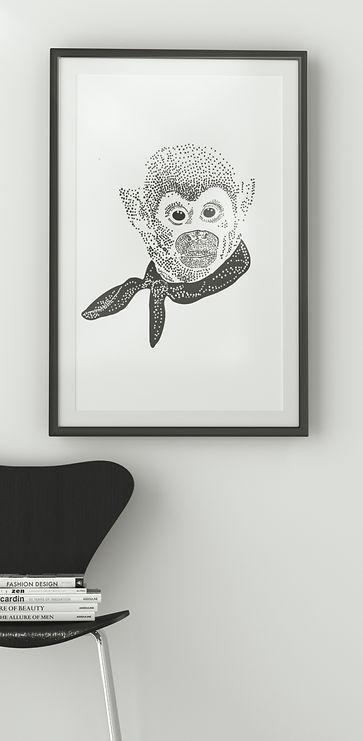 Visualisering av aptavla i en läshörna