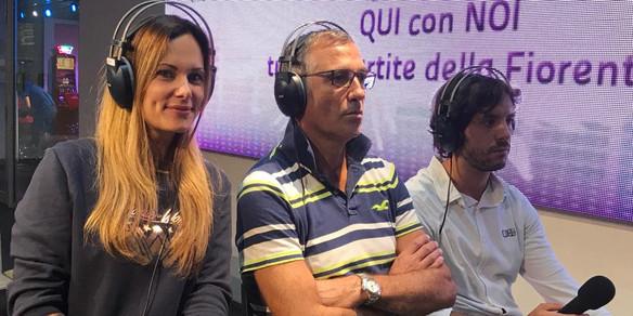 Con Celeste Pin e Duccio Mazzoni- Lady Radio