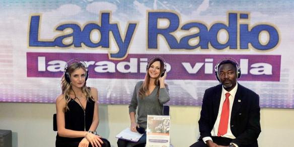 Con Veronica Fedolfi Lady radio