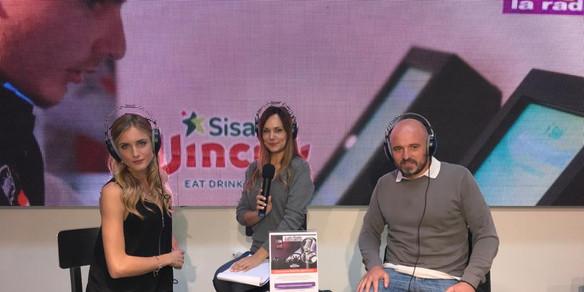 Con Veronica Fedolfi e Daniele Amerini Lady Radio