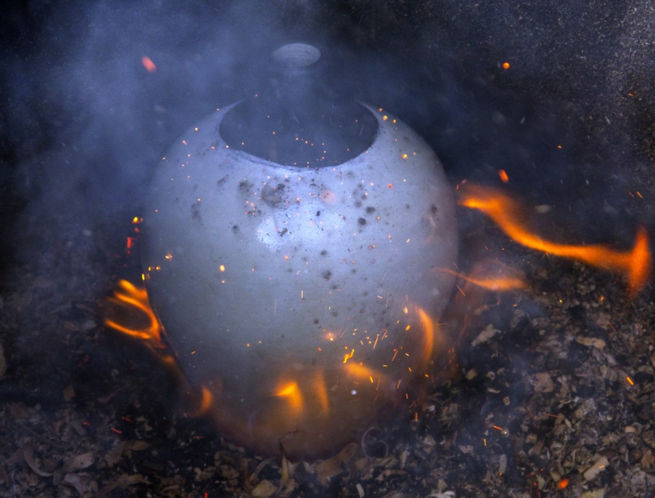 Raku - Sawdust reduction