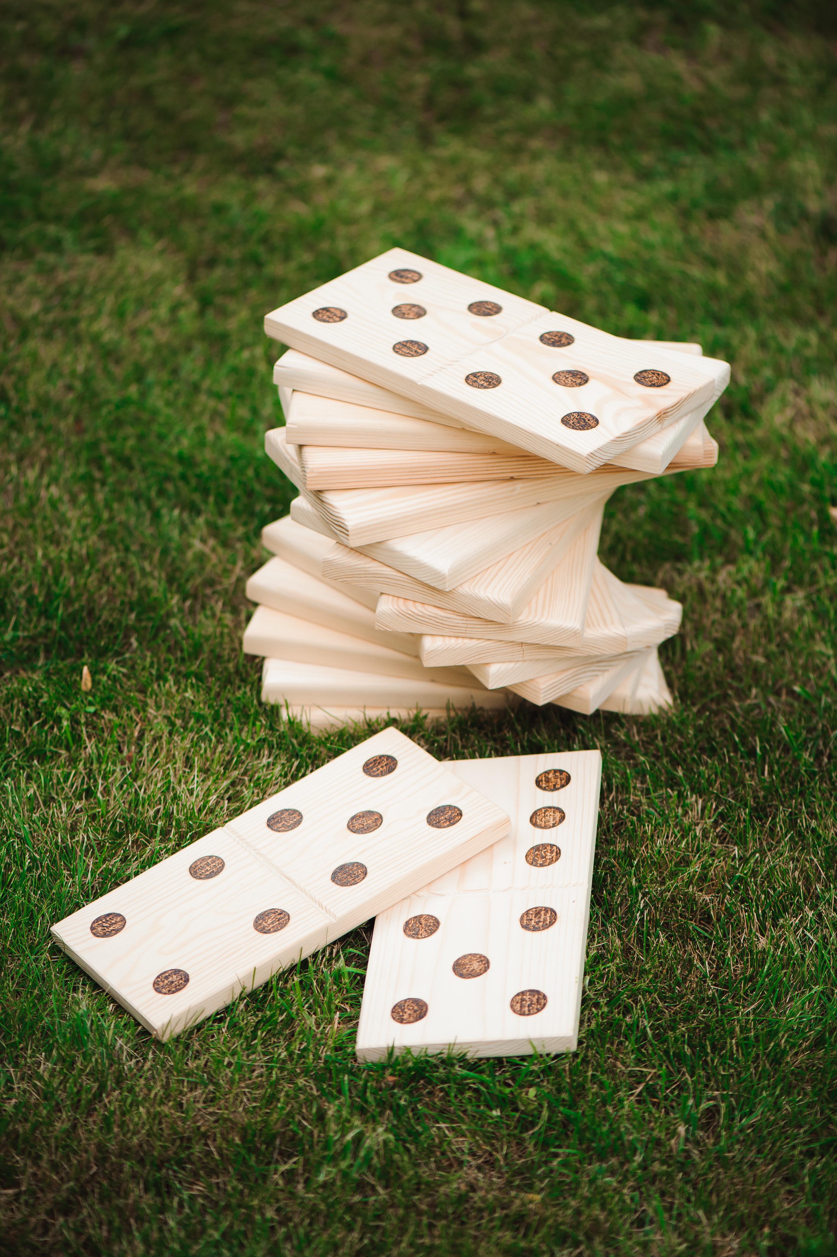 jeux dominos géant