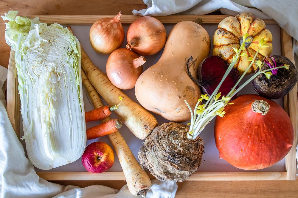 Saisonkalender-Januar-Deutschland-Obst-Gemüse