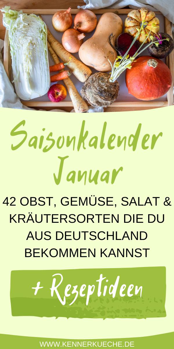 Saisonkalender-Januar-Gemüse-Obst-Rezeptideen-Salat-Kräuter