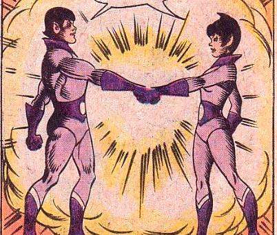 Wonder Twin Powers Activate!  Part II
