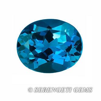 Topaze bleue       4,06 ct