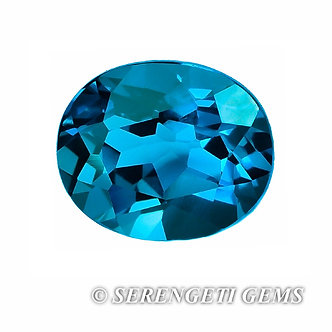 Topaze bleue       5 ct