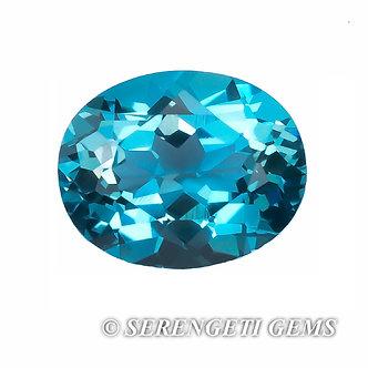Topaze bleue       3,38 ct