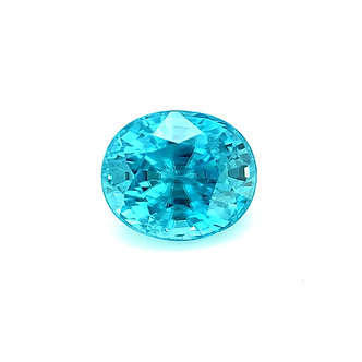 Cambolite : Zircon bleu du Cambodge   4,11 ct