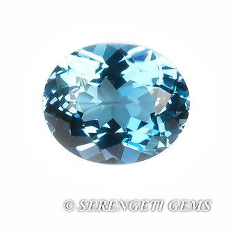 Topaze bleue       5,09 ct