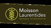 Logo Moisson Laurentides, banque alimentaire