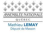 Logo du député Mathieu Lemay, député de l'assemblée nationale du Québec dans Masson