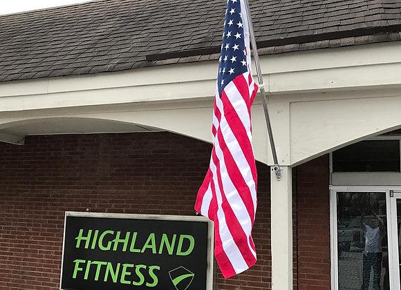 Highland Fitness, 1209 Highland Avenue, Carrollton
