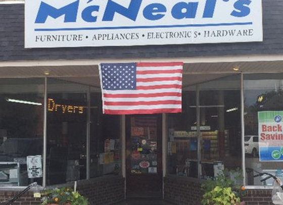 McNeals Furniture & Hardware 123 5th St. Carrollton, Ky