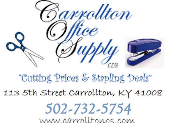 Carrollton Office Supply LLC, 113 5th St. Carrollton