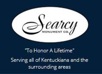 Searcy Monuments Co. 180 W Jay Louden Rd. Carrollton, KY