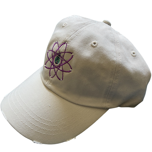 '1STRɅNGR' Atomic Dad Hat - Tan