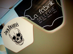 Sellerie Hors bord - Personnalisation Jack Daniel