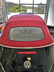 Changement capote volkswagen new beetle