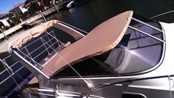 Création taud hivernage cockpitt