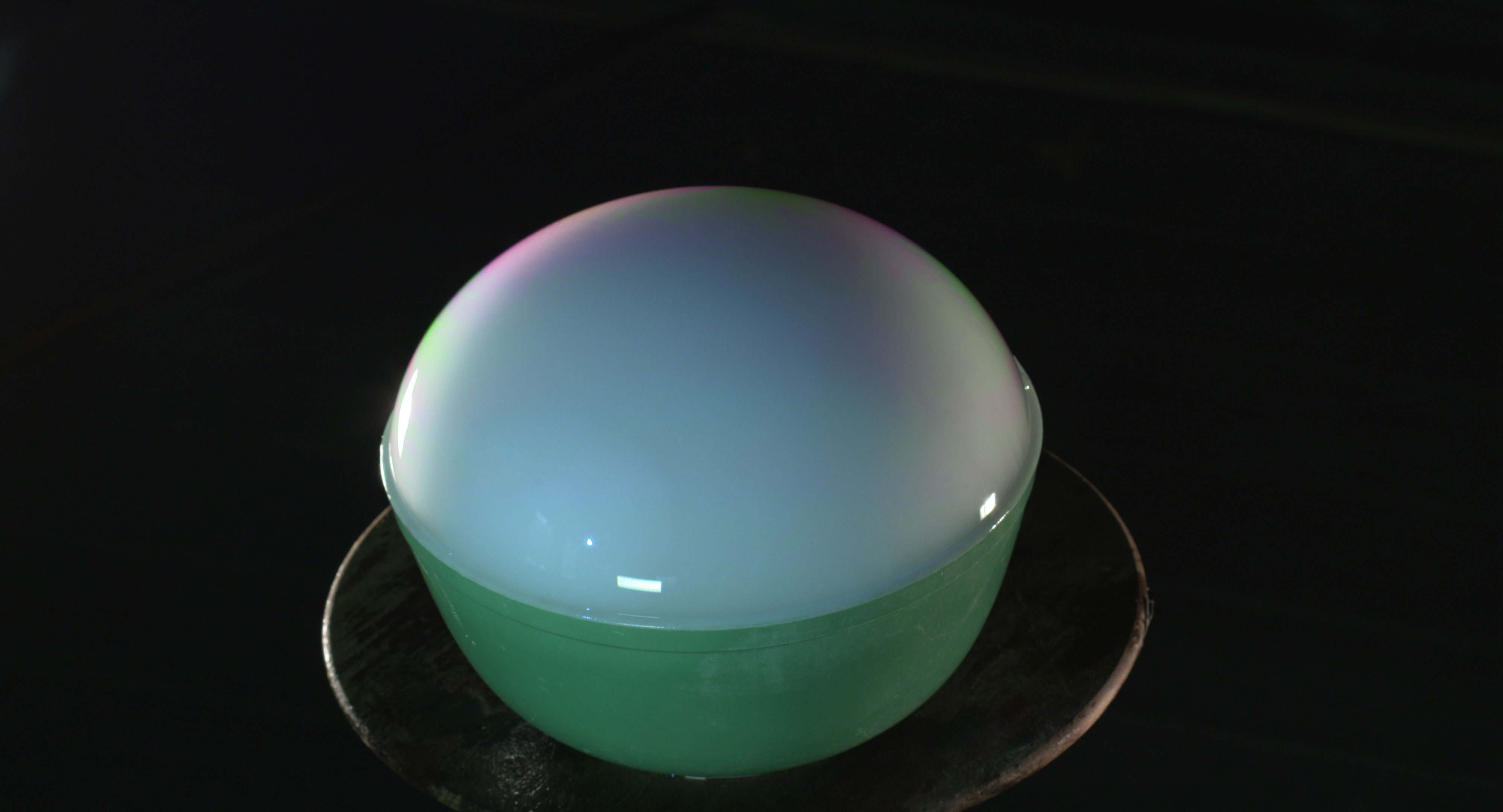 DRY ICE BUBBLE Science