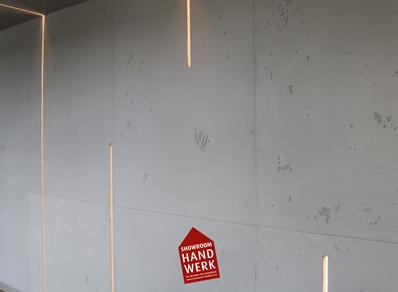 Betonoptik mit LED Profilelementen