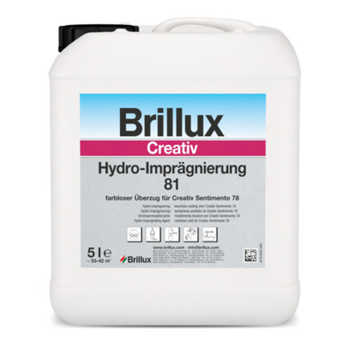 Brillux Creativ Hydro-Imprägnierung 81