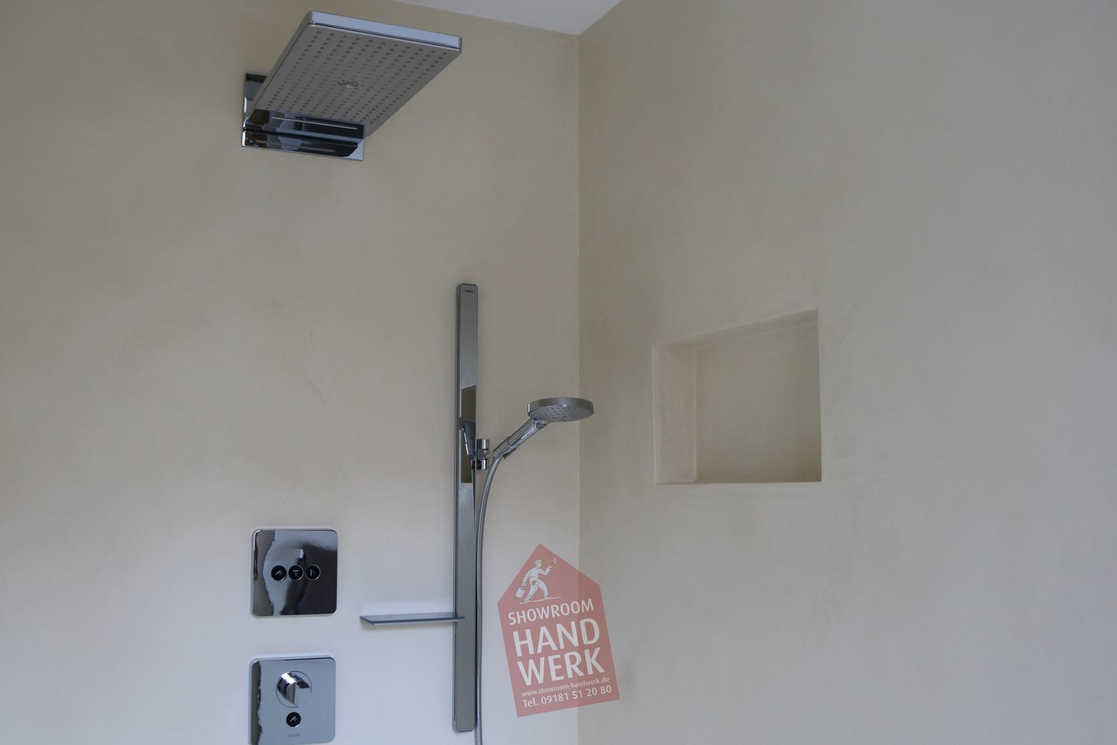 Fugenloser Duschbereich