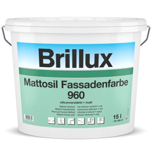 Brillux Mattosil Fassadenfarbe 960 WUNSCHFARBTON