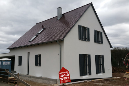 Vollwärmeschutz WDVS Wärmdeämmverbundsystem Burgthann München