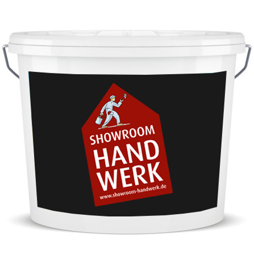 Showroom Handwerk Stumpfmatte Innenfarbe