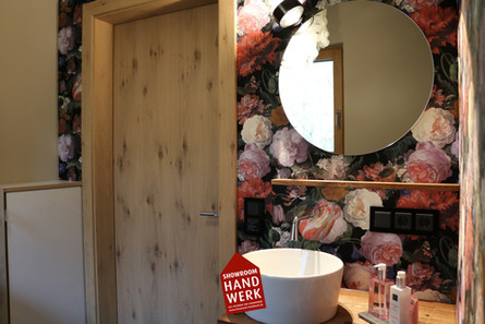 Dusche und Bad mit Tapeten Regensburg