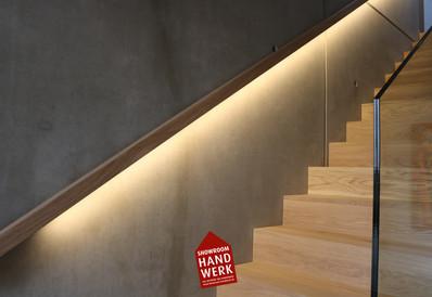 LED Licht am Treppenlauf