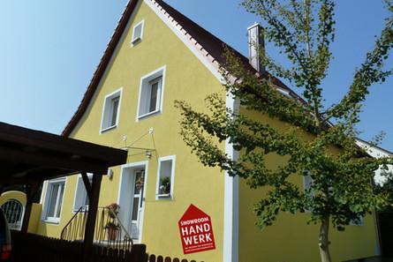 Vollwärmeschutz WDVS Wärmdeämmverbundsystem Ansbach