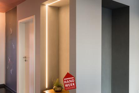 Lichtgestaltung mit LED Profilelemente Nürnberg