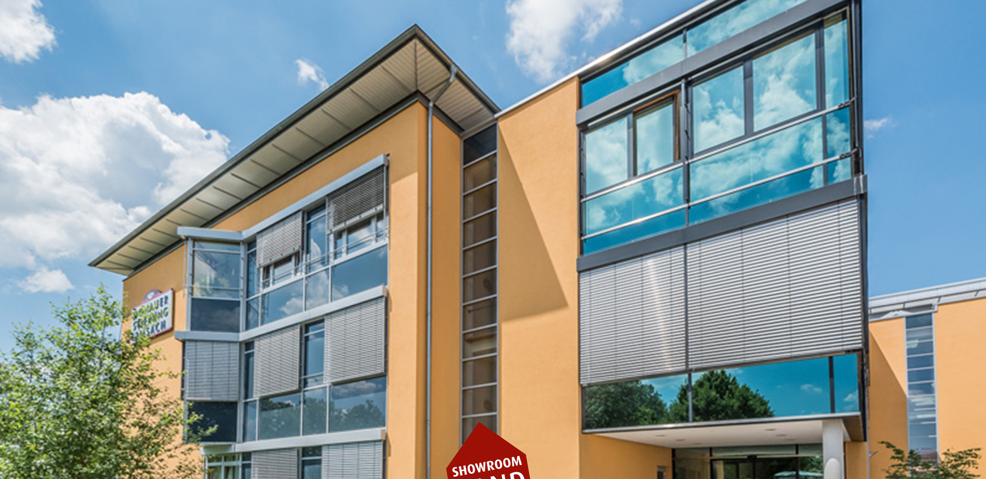 Fassadenanstrich Donauer Stiftung Neumarkt Klinikum
