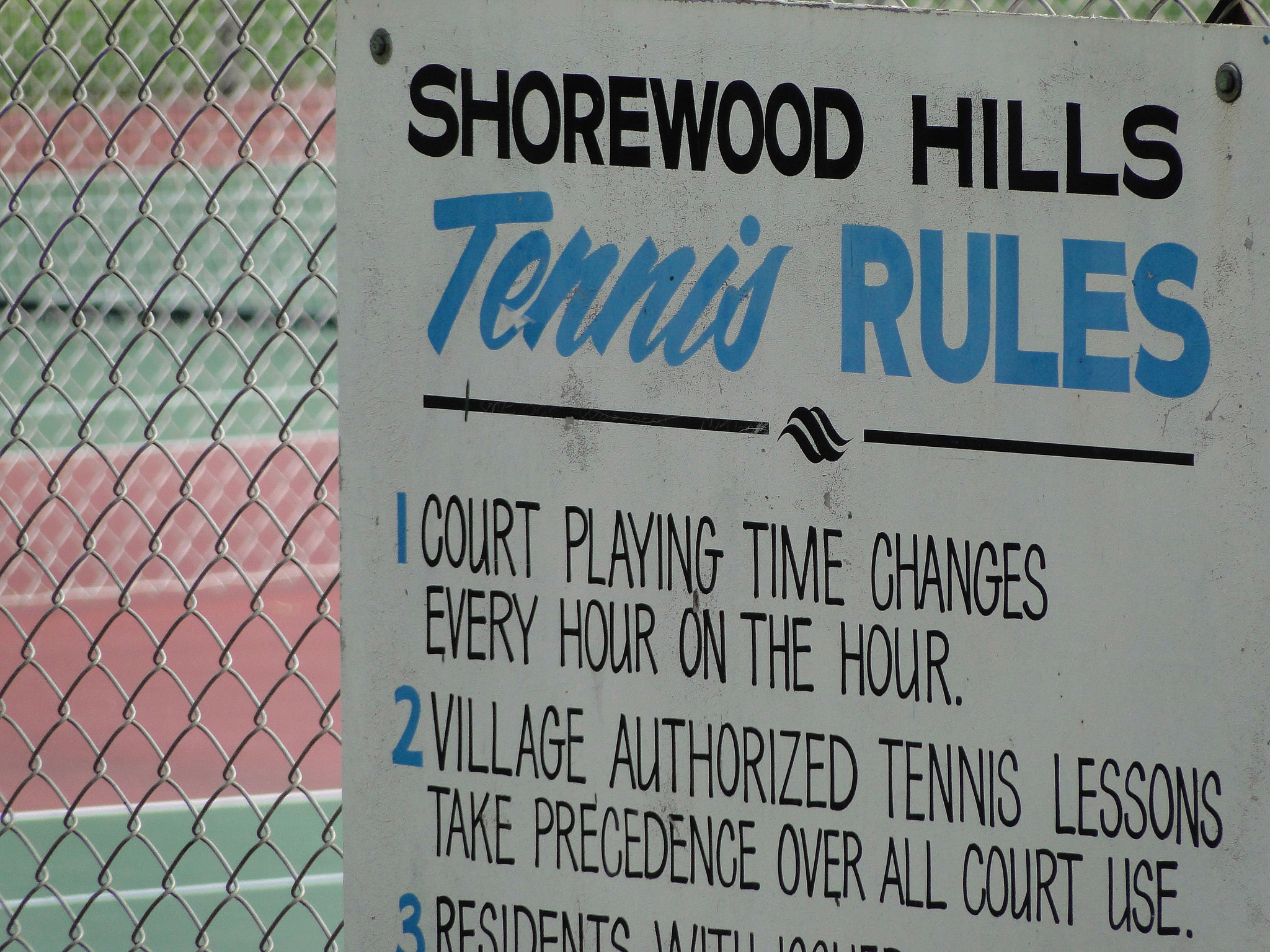 Shorewood Hills Tennis Courts