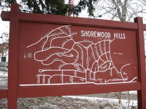 Map of Shorewood Hills