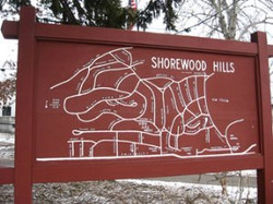 Map of Shorewood Hills