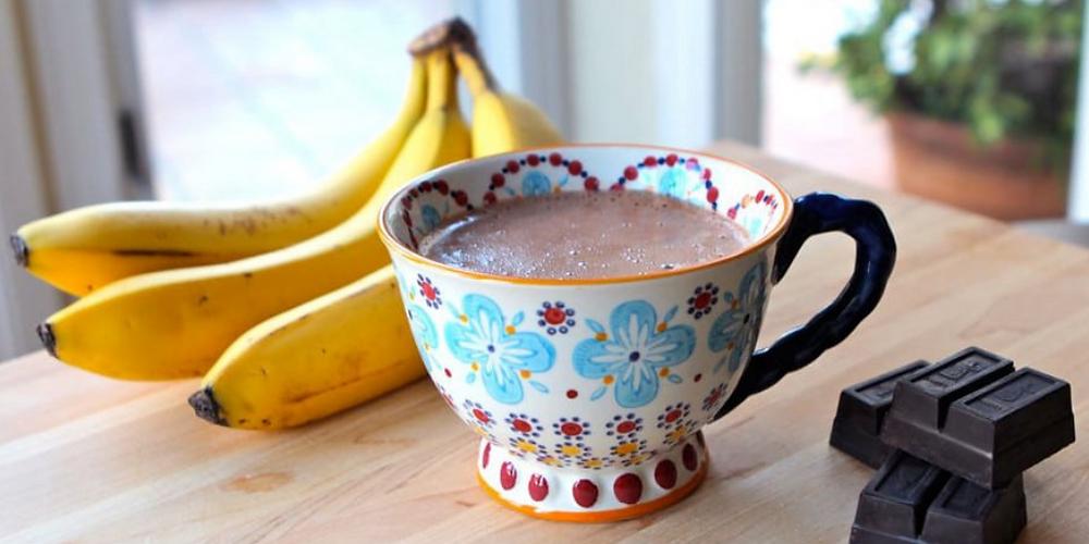 Banana Hot Chocolate