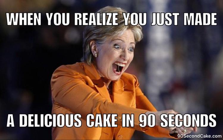 Hillary Cake Meme