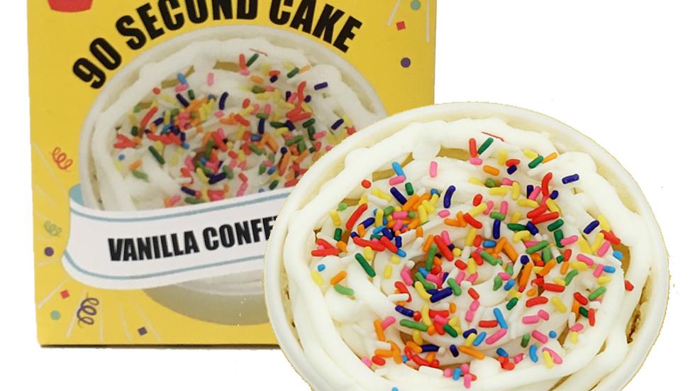 Vanilla 4-Pack 90 Second Cake