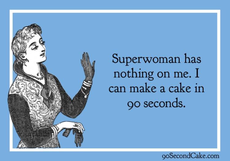 Superwoman Cake Meme