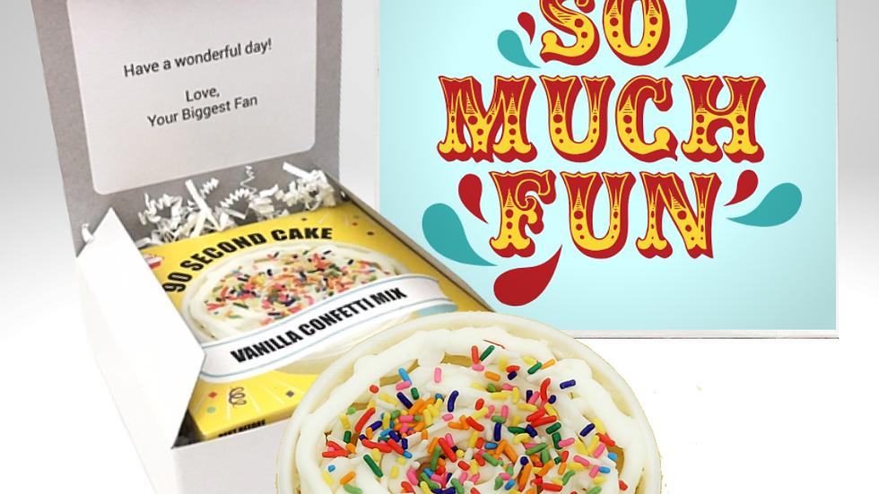 So Much Fun Cake Card