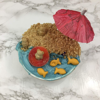 Beach Bears Cake